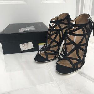 L.A.M.B. Authentic Caged Sandals size 8